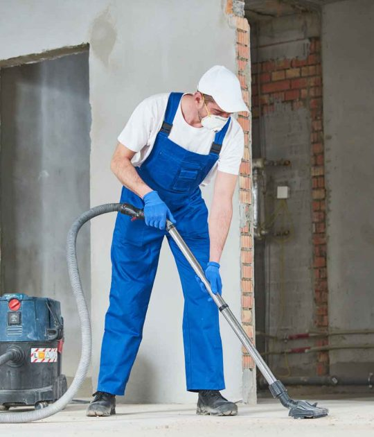 janitorial services post construction